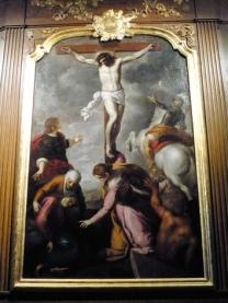 S.E.F. 7988 CROSNE Eglise Tableau restauré