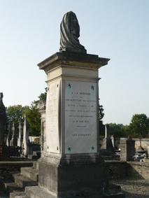 SEF FERRIERES 7246 Tombeau famille plaque Joseph Fouché
