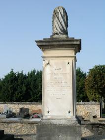 SEF FERRIERES 7247 Tombeau famille plaque Paul Athanase Fouché