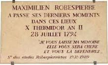 Robespierre Conciergerie