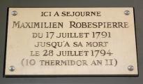 Robespierre rue St Honoré